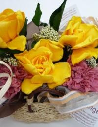 Стабилизированные цветы - стабилизированная гардения